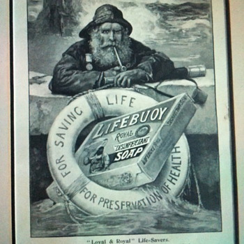 Lifebuoy royal disinfectant soap poster. - Advertising