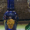 Bohemian Art Glass Vase