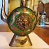 Hand Crafted Tibet Cloisonne Decorative Tea Pot 5 1/2 inch tall  With MONKEY!!