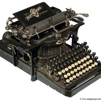 The Hartford typewriter - 1896