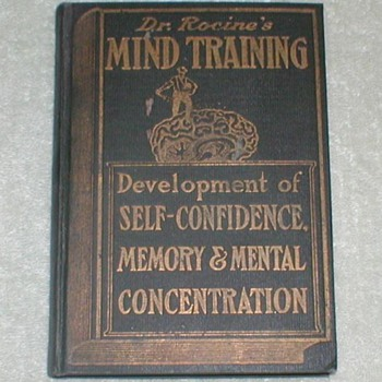 1905 Dr.Rocine&#039;s Mind Training - Books
