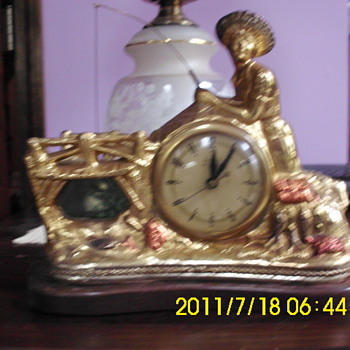 Fisherman clock