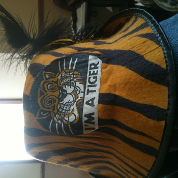 My prize Detroit tiger hat
