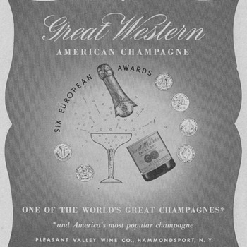 1950 Great Western Advertisements - Advertising