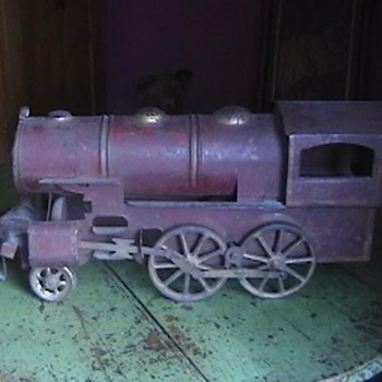 1920's Train Friction Toy