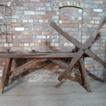 antique jewellers draw bench