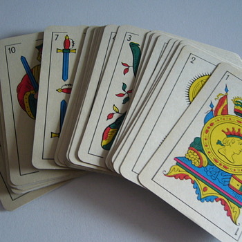 Spanish playing cards from the 70's - Cards