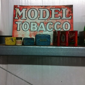 Tobacco signs,Old Schlitz can