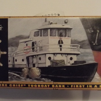 Texaco Firechief Tugboat Bank