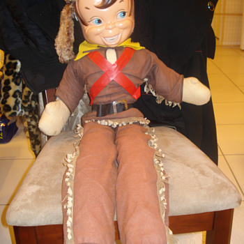 Davy Crockett 3ft tall doll - Dolls