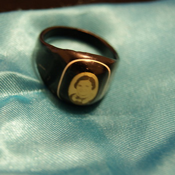 est over 100 year old ring.  - Costume Jewelry