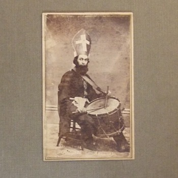 CDV of Nativist drummer?