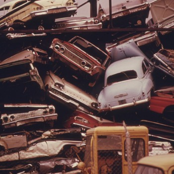 Can I get a part of that car before its crushed... - Classic Cars