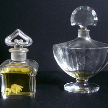 GUERLAIN, FABERGE AND MY FAMILY. - Bottles