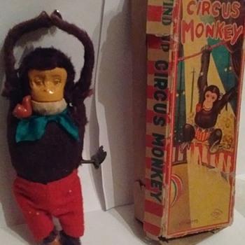 """""""Japan"""" Windup Circus Monkey  - Toys"""