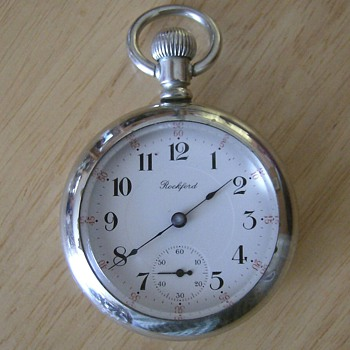 Big Old Rockford Pocket Watch - Pocket Watches