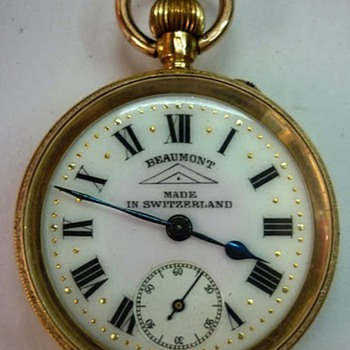 Beaumont pocket watch - Pocket Watches