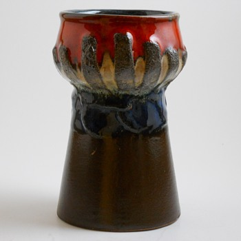 Strehla-GDR, East Germany Vase, circa 1960-70 - Art Pottery