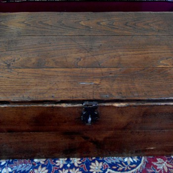 Antique Blanket Box - Furniture