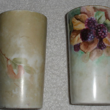 Painted glasses - Art Pottery