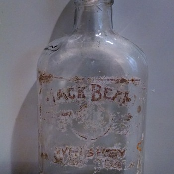 Jack Beam Whiskey Bottle - Bottles