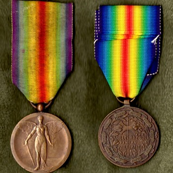 The WWI Victory Medal Series  Rumania - Military and Wartime