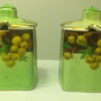 Royal Winton Condiment Holders