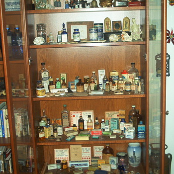 My antique pharmacy/medicine collection - Bottles