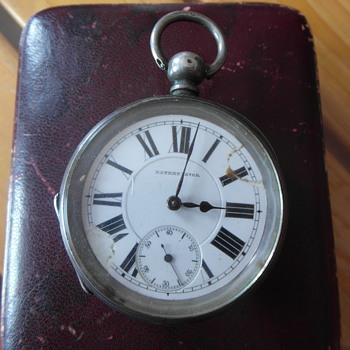 Patent Lever Pocket Watch with Chronometer - Pocket Watches
