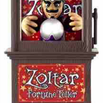 "Zoltar fortune teller (battery operated) from 1988 movie ""Big"" - Movies"
