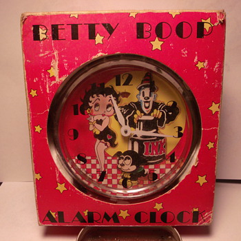 Animated Betty Boop Alarm Clock - Clocks