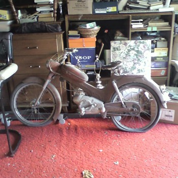1963 Steyr-Daimler-Puch..found picking through our neighbors garage.