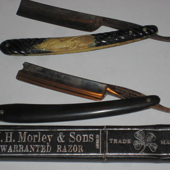 Old German Razors - Tools and Hardware