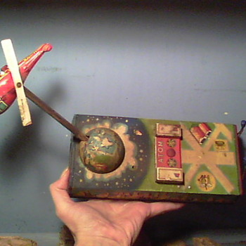 Tin Toy, Vintage - Made in Japan 1950&#039;s? - Toys