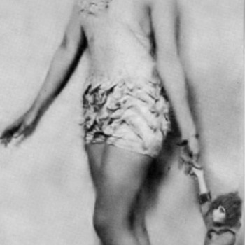 Follow up to Phils Smoking Doll . She did get up to Dance in Follies  - Photographs