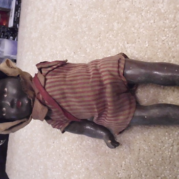 Germany Made Black Doll - Dolls