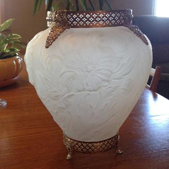 Mid-Century Glass Vase - Glassware