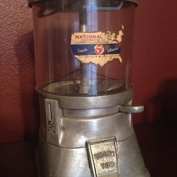 Early Bubble Gum Machine
