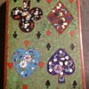 Cloisonné playing card box