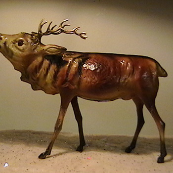 1920's-1930's German Reindeer - Christmas