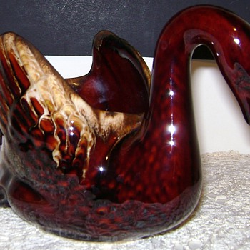 Ceramic Swan - Figurines