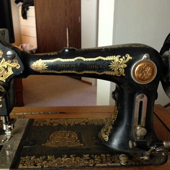 Improved Faultless Treadle Sewing Machine - Sewing