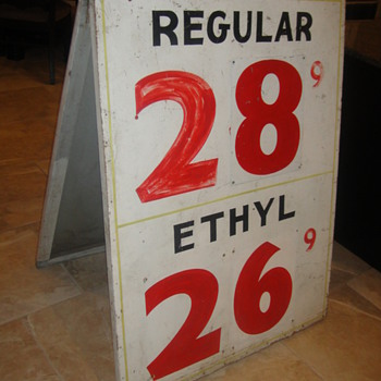 Vintage Gas Sign - Signs