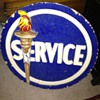 Standard Oil Terra Cotta and Cement Service Station Emblem