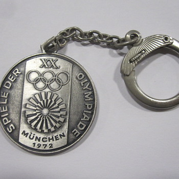 1972 Munich Olympics Key Chain