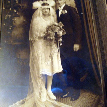 Art Deco Wedding Photo