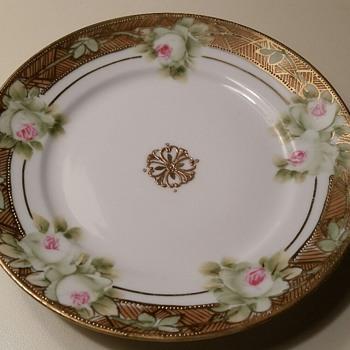 Morimura China Plate