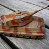 tiger tank toy by gorgi 80s