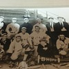 antique baseball photo