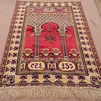 Turkish rug, I think.   would like to know more.